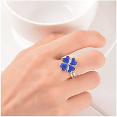 Four Leaf Clover Mood Ring