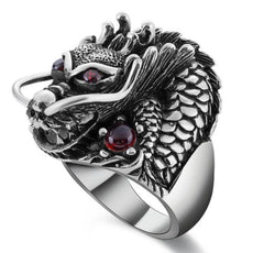 Free Red Dragon Ring