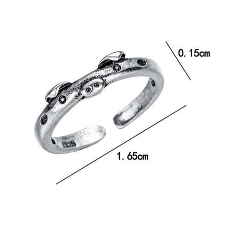 Pig Adjustable Ring