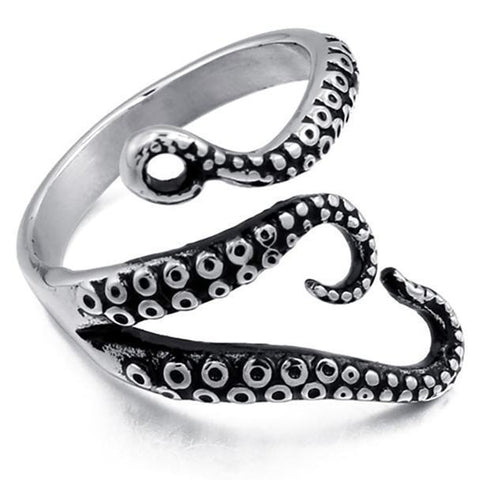 Resizable Octopus Ring