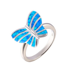 Free Butterfly Ring