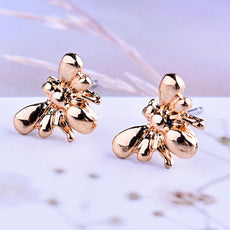 Free Bee Earrings