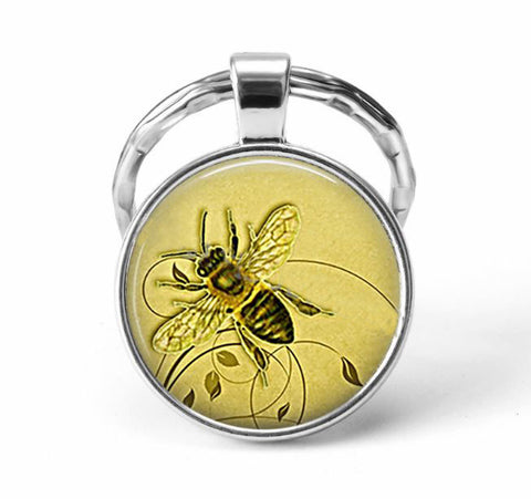 Bee Animal Keychain