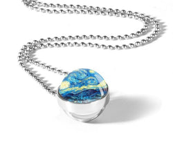Wind Double Glass Necklace