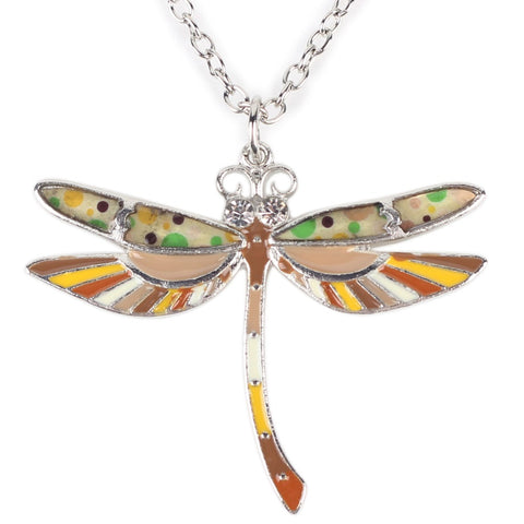 Dragonfly Multicolor Necklace