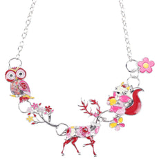 3 Animals in 1 Necklace