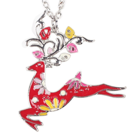 Running Deer Necklace