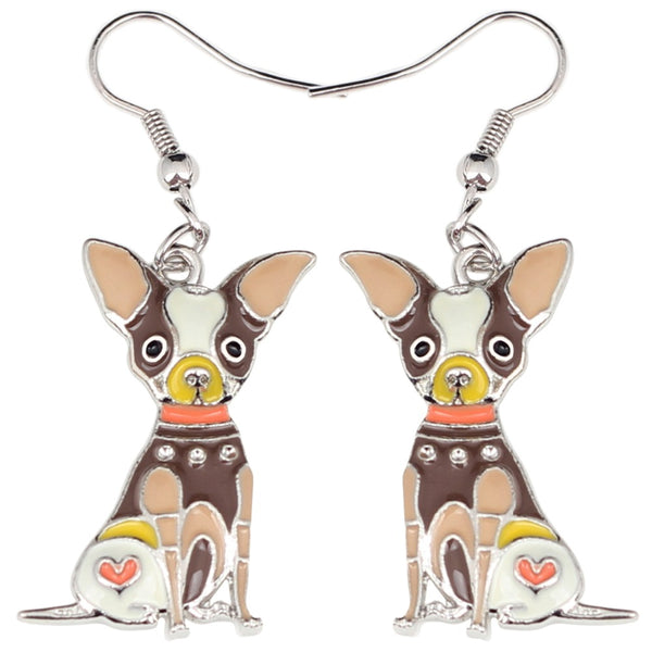 15c77bc43 ▷ Chihuahua Multicolor Earrings | Helping Animals At Risk