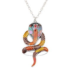 Multicolor Cobra Necklace
