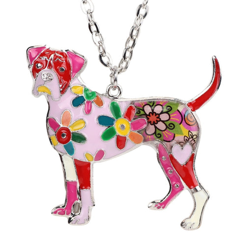 Boxer Multicolor Necklace