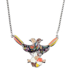 Lovebirds Multicolor Necklace
