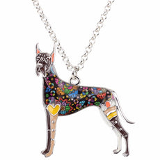 Great Dane Multicolor Necklace
