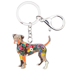 Boxer Multicolor Keychain