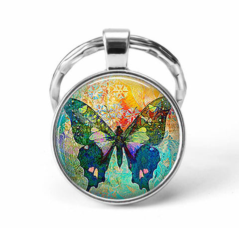 Butterfly Animal Keychain