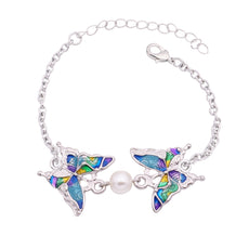 Wholesale Butterfly Bracelets (12 Pack)