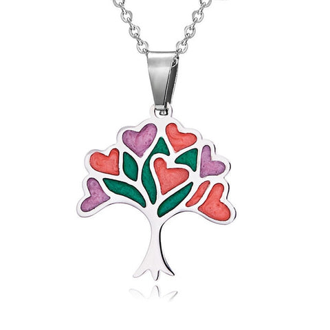 Stainless Tree of Life Necklace
