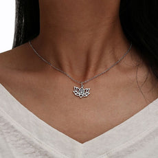 Free Lotus Flower Necklace