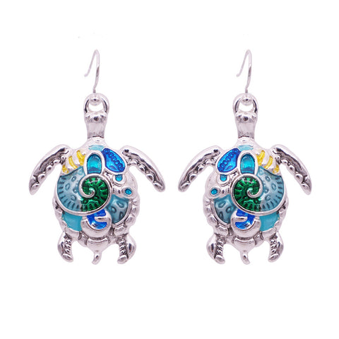 Turtle Earrings  (3 Color Styles)