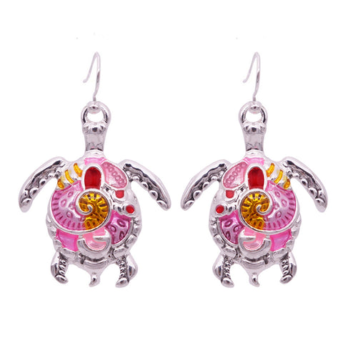 Free Turtle Earrings  (3 Color Styles)