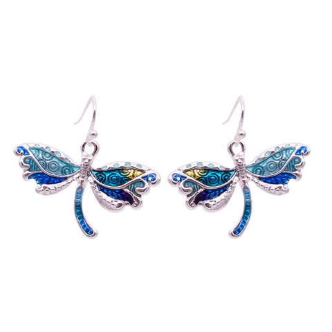 Free Dragonfly Earrings