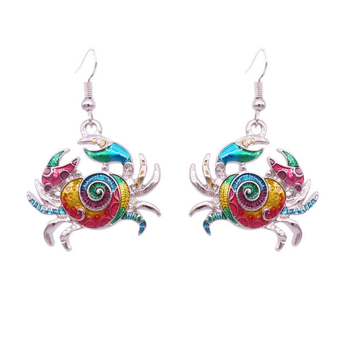 Crab Earrings