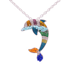 Free Dolphin Necklace