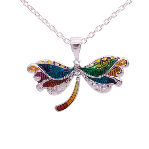 Wholesale Dragonfly Necklace (12x Pack)