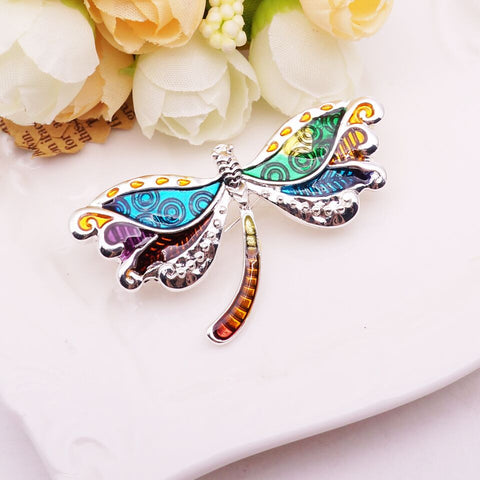 Wholesale Dragonfly Brooch (12x Pack)