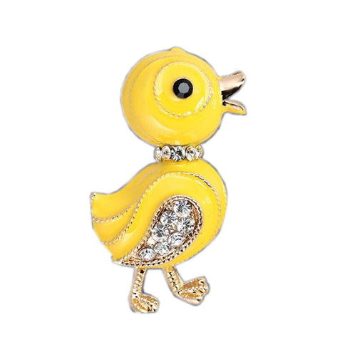 Free Duck Brooch