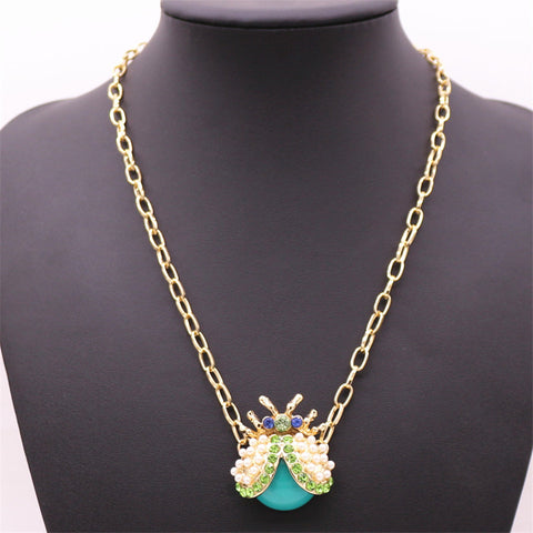 Lucky Beetle Necklace