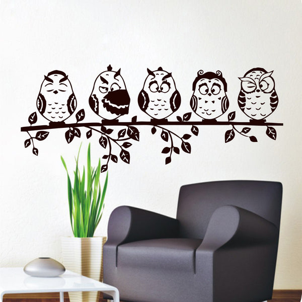 Owl Wall Decal Helping Animals At Risk