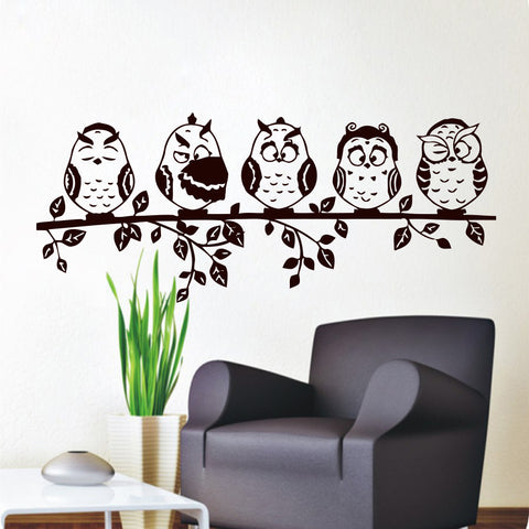 Superieur Owl Wall Decal