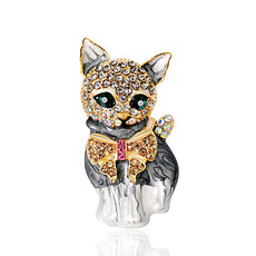 Free Cat Brooch