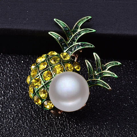 Free Pineapple Brooch
