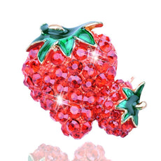 Free Strawberry Brooch