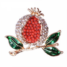 Free Pomegranate Brooch