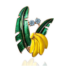 Free Banana Brooch