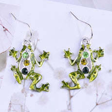 Free Frog Earrings