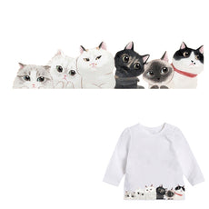 Free Cat Sticker for Clothes