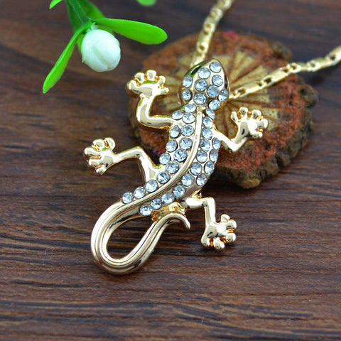 Gecko Necklace (2 Color Styles)
