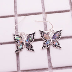 Free Green Butterfly Earrings