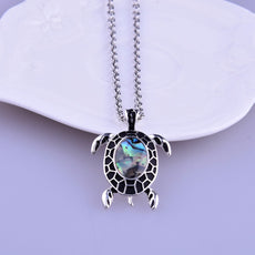 Free Green Turtle Necklace