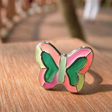 Multicolored Butterfly Mood Ring