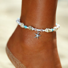 Starfish and Shells Anklet
