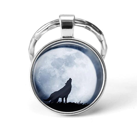Wolf Animal Keychain