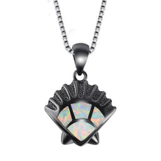 Shell Opal Necklace