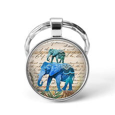 Elephant Animal Keychain