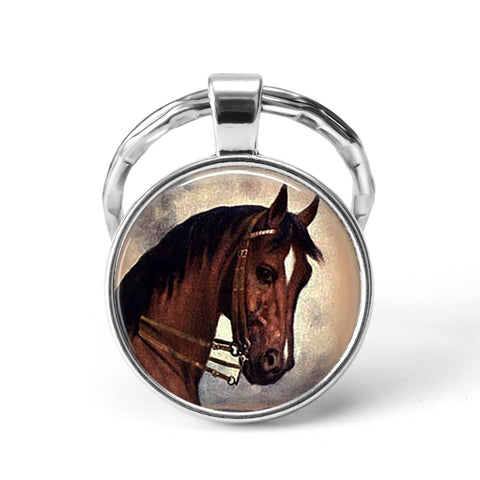 Horse Animal Keychain