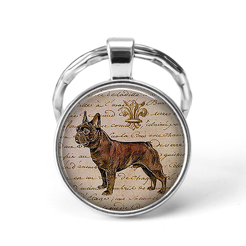 Dog Animal Keychain