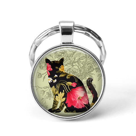 Free Cat Animal Keychain
